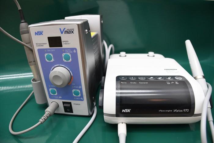 バリオス970(右)、VMAX(左) (歯科器具)